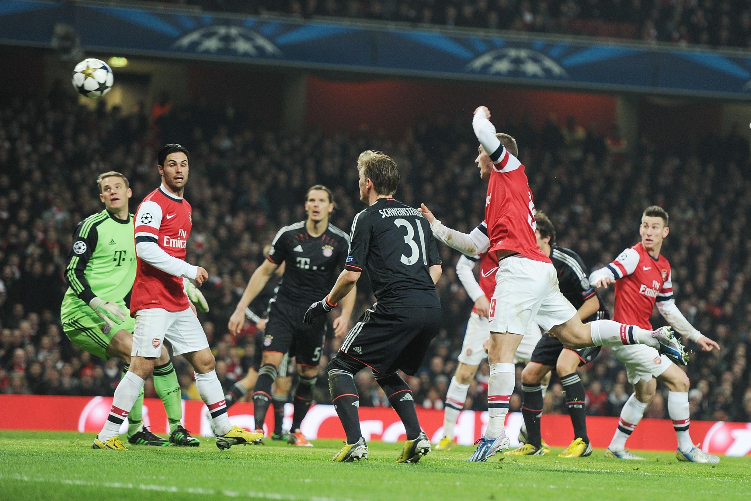 «Арсенал» и «Бавария» – классика Лиги чемпионов в 2010-х