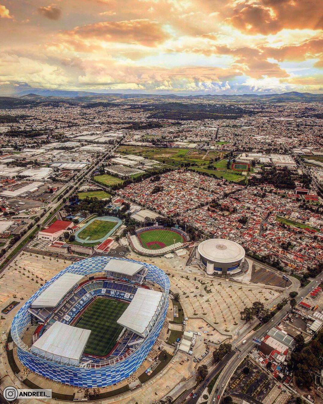 Мексиканская арена «Эстадио Куаутемок», которая названа в честь пивоварни
