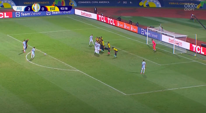 Месси разрывает на Кубке Америки: расправился с Эквадором и вывел аргентинцев в полуфинал