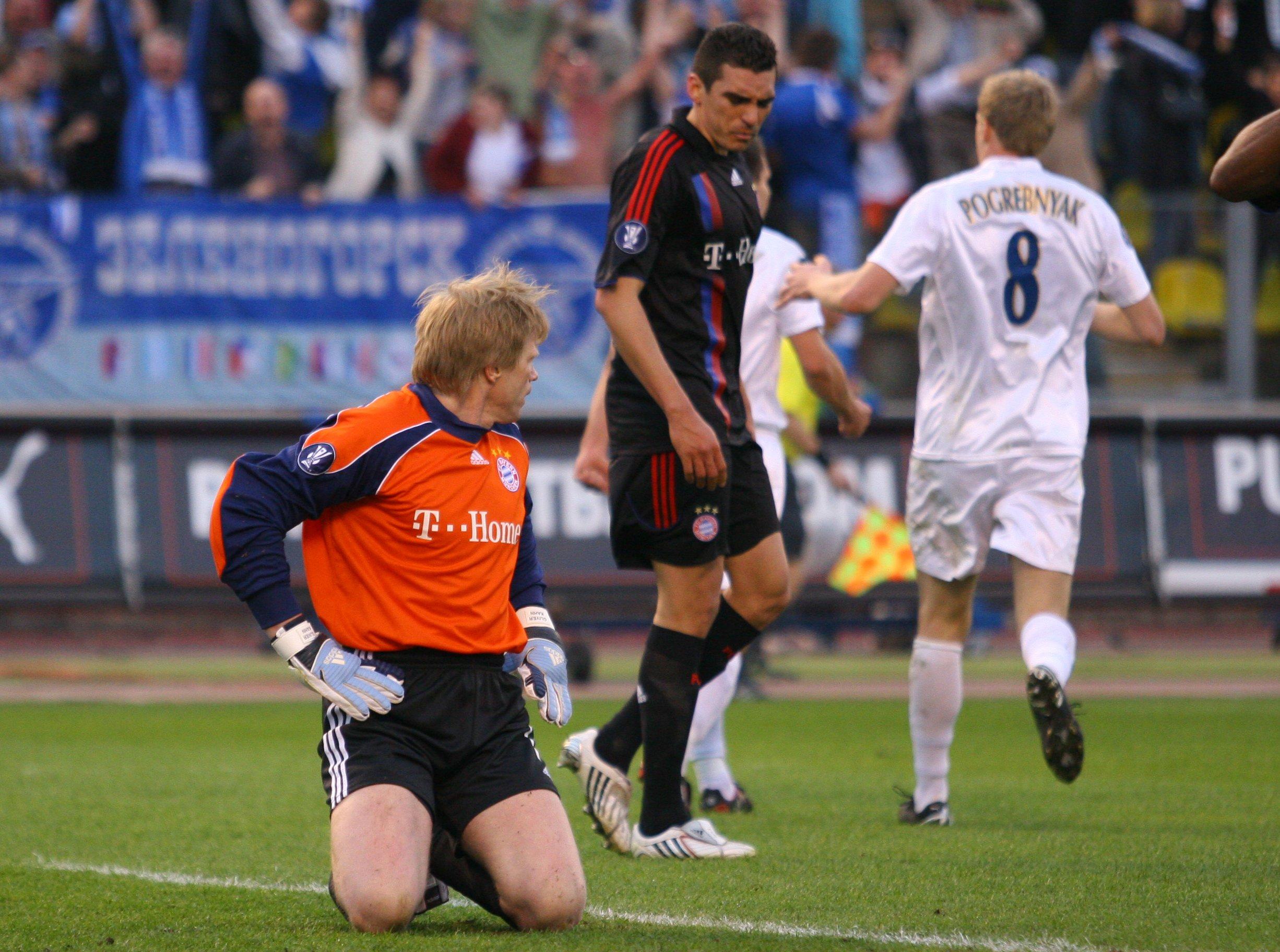 13 лет назад «Зенит» сделал первый шаг к финалу Кубка УЕФА. Взял результативную ничью в Мюнхене, сыграв без замен