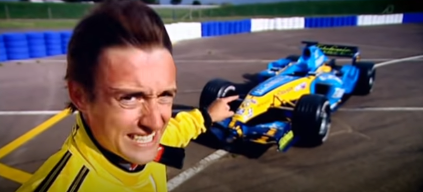 Top Gear, Ричард Хаммонд, техника, Джереми Кларксон, Формула Рено, объясняем, Рено, ретро, Формула V8 3.5, почитать