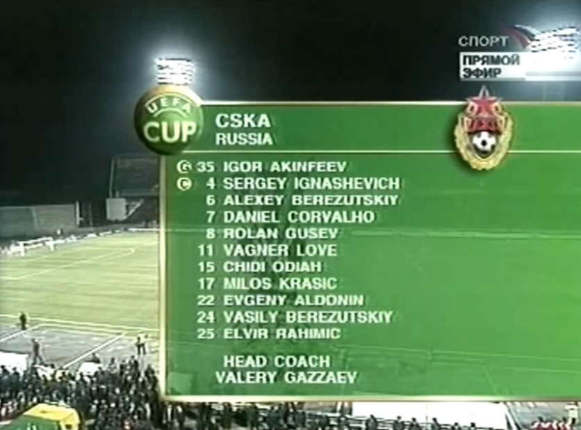 16 лет назад ЦСКА начал плей-офф победного Кубка УЕФА. В Краснодаре выиграли у «Бенфики»: победный гол забил Василий Березуцкий