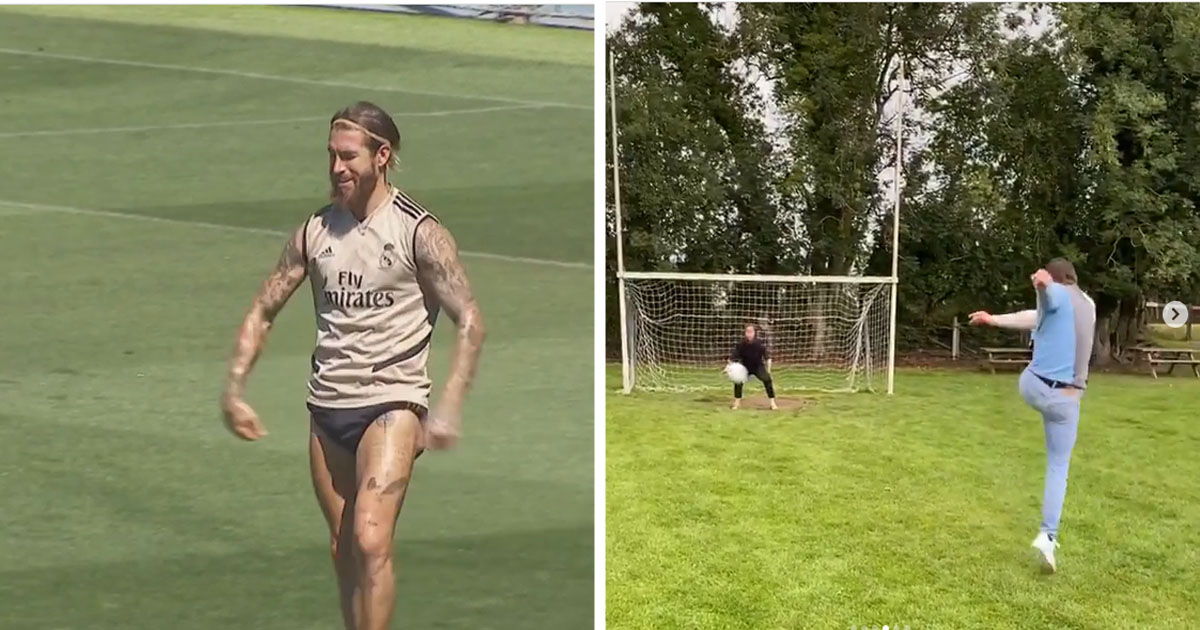 Реал Мадрид, Серхио Рамос, Ла Лига, Конор Макгрегор, видео, соцсети