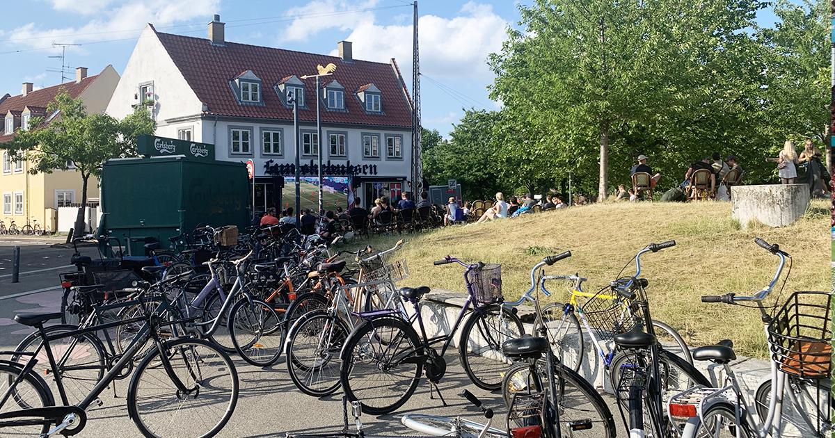 Выезд в Копенгаген: атмосфера, попал кто сильно захотел, душ из пива