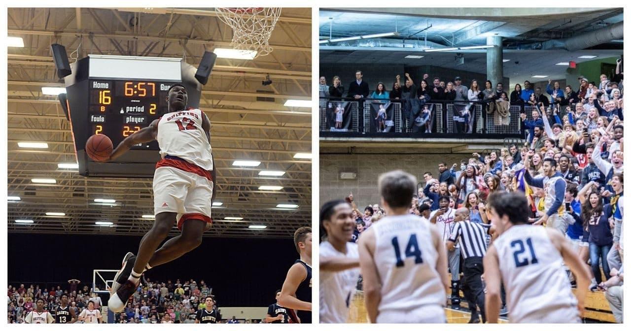 Школьный баскетбол в США – нереально крутое зрелище. Сейчас докажем!