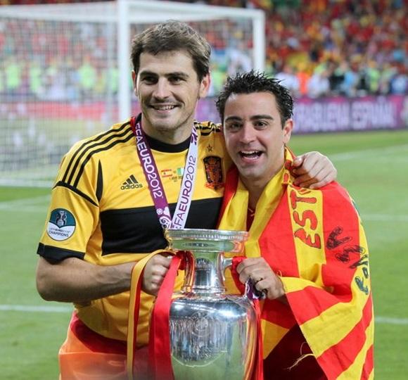 Сборная Испании по футболу, Евро-2012, Хави, Икер Касильяс