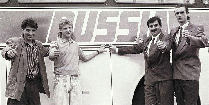 29 лет назад сборная России провела первый матч в новейшей истории. Черчесов – капитан, Карпин – автор первого гола