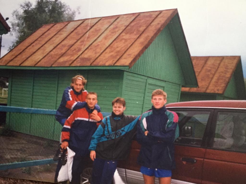 В 90-е русский клуб играл в чемпионате Финляндии 5