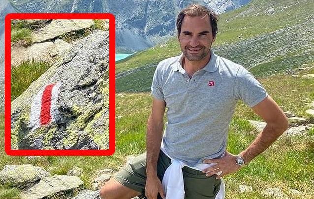 Легендарный Роджер Федерер сфотографировался с БЧБ. Вряд ли это связано с политикой, но беларусы все равно завалили его благодарностями