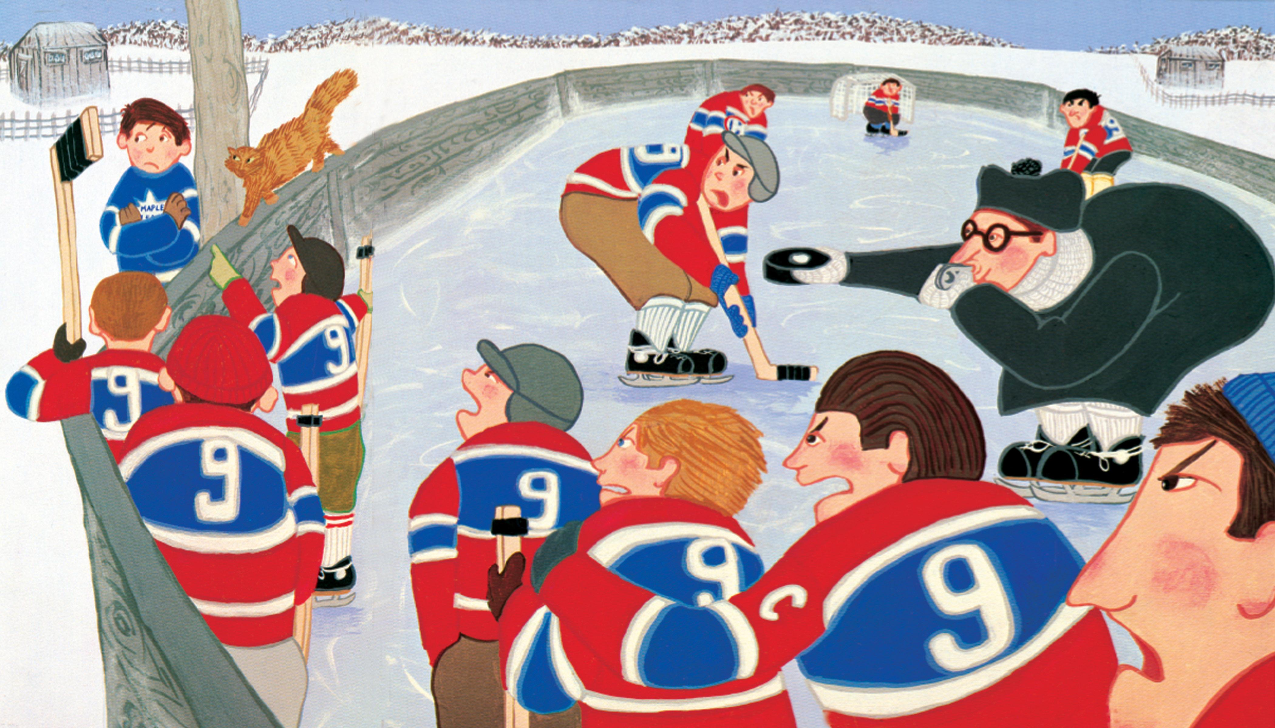 детский хоккей, Уэйн Гретцки, НХЛ, книги, Монреаль, Торонто, Морис Ришар, Калгари, Питерборо