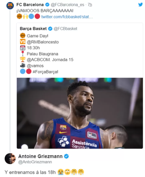 Гризманн – большой фанат НБА. 8-й номер в «Атлетико» взял в честь Кобе Брайанта, праздновал голы в стиле Леброна и безумно любит Роуза