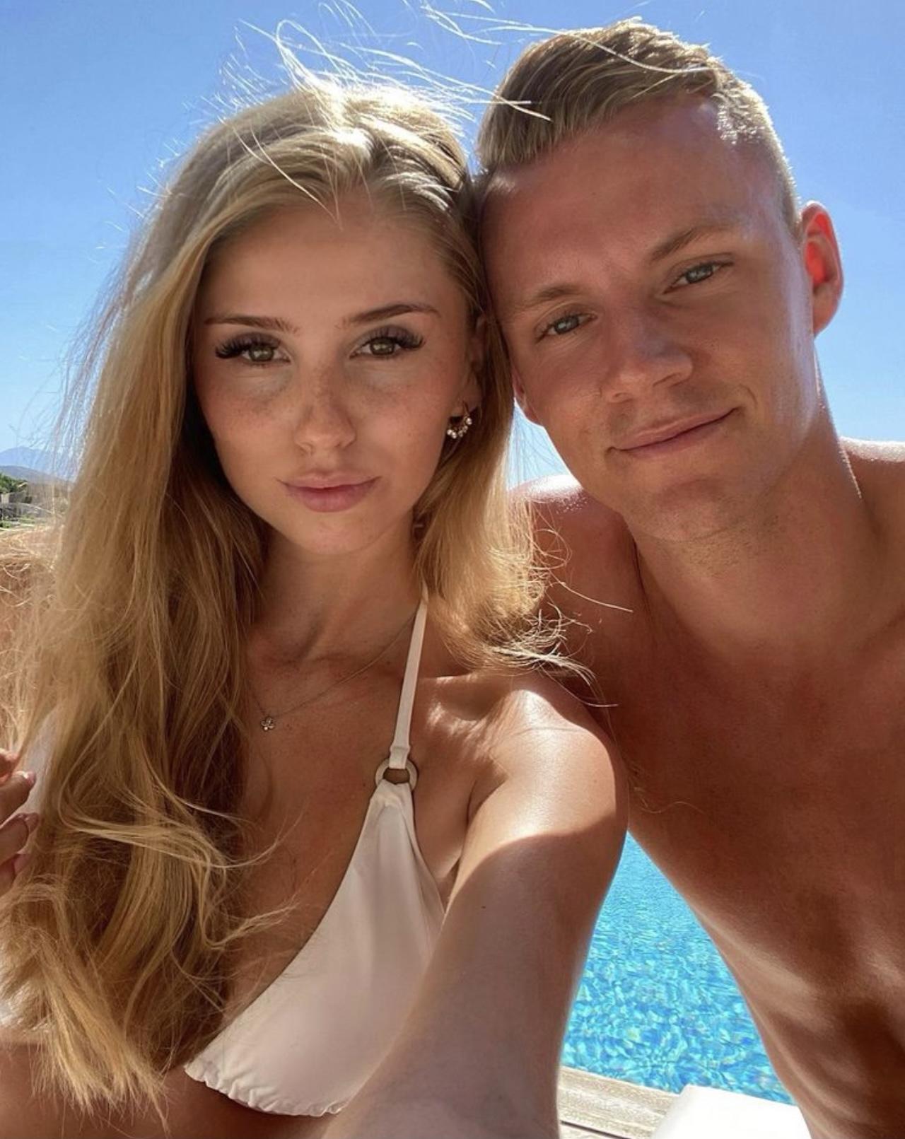 София Кристин — супруга голкипера лондонского «Арсенала» Бернда Лено
