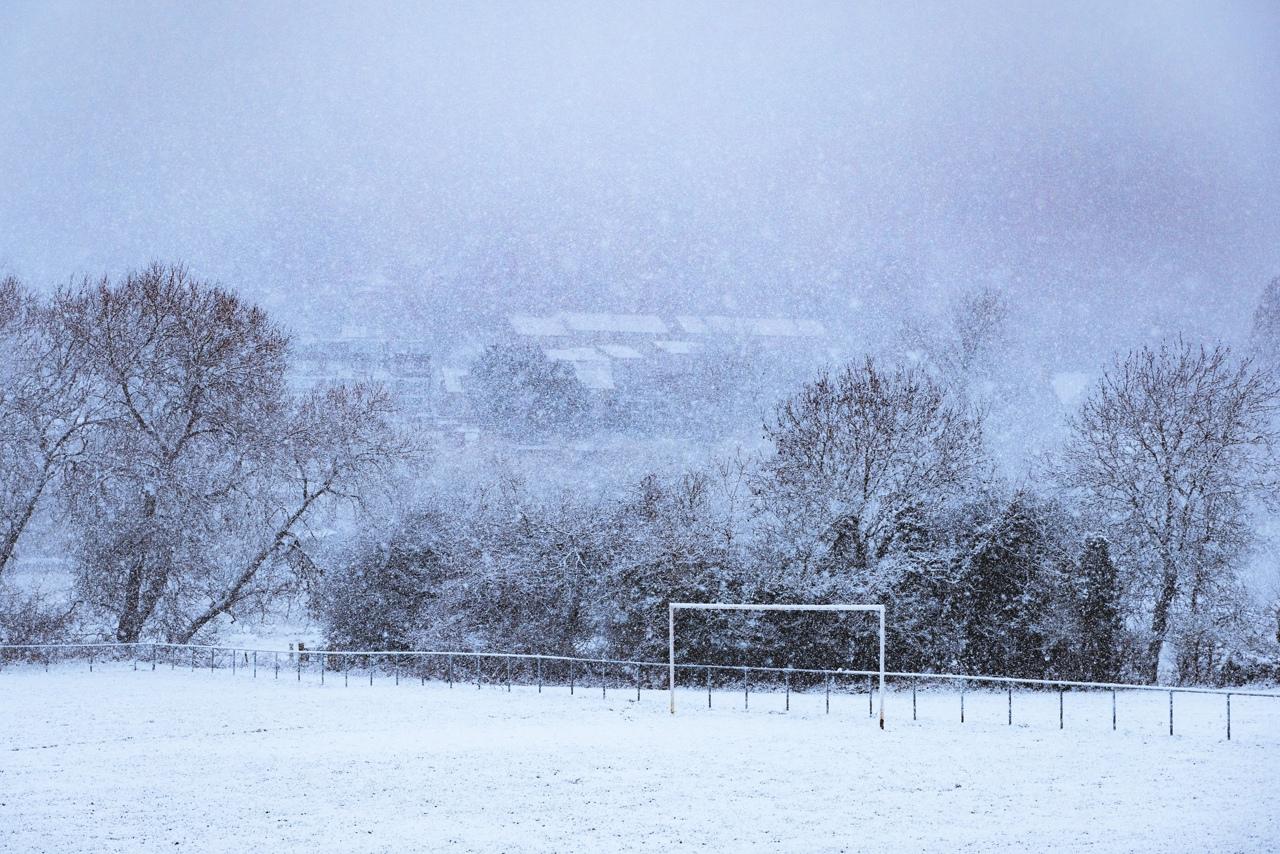 Нон-лига в фото: череда снегопадов и Национальная Лига, которая пока не отменена