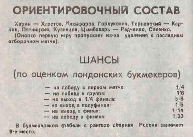 «Там будет победа!» В 1994 году Машина времени» записала песню-гимн для сборной России к ЧМ в США