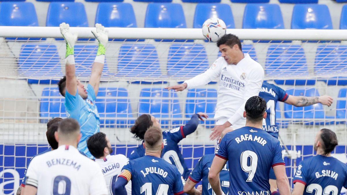 «Реал» вырвал «большую» победу у «Уэски». Обзор матча