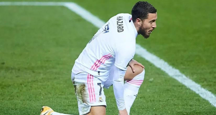 Marca: «Реал Мадрид» устал от плохой игры Эдена Азара