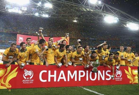 высшая лига Австралия, Сборная Австралии по футболу