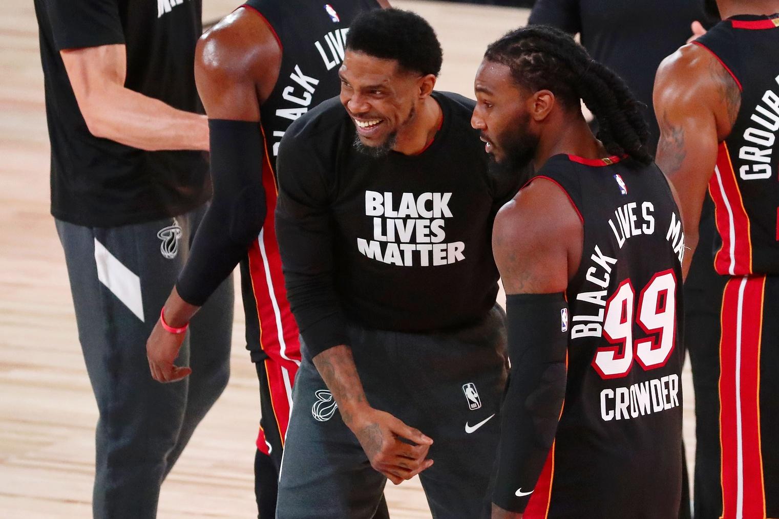 Юдонис Хаслем разжигает своим огнем «Хит» и остается лидером команды в плей-офф НБА