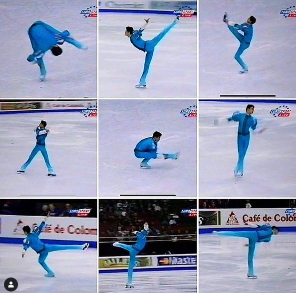 сборная Канады, мужское катание, Эмануэль Сандю