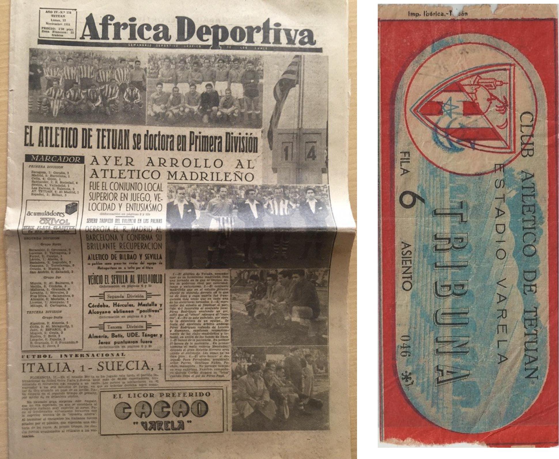 Однажды в Примере играла команда из Африки. Ее основали болельщики «Атлетико» 100 лет назад – клубы до сих пор дружат