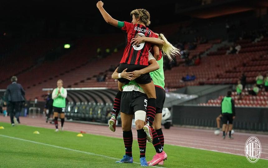 Победа «Милана» в Лиге чемпионов: Потрясающая Джачинти отправляет в нокаут «Цюрих» на его поле