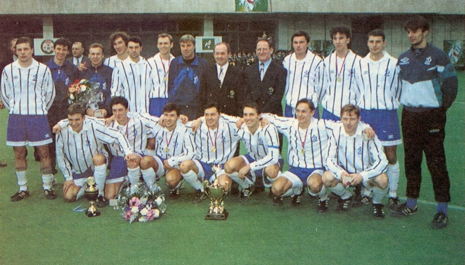 В 1996-м юный Шевченко выиграл первый Кубок Содружества для «Динамо Киев». В финале с «Аланией» он сыграл случайно