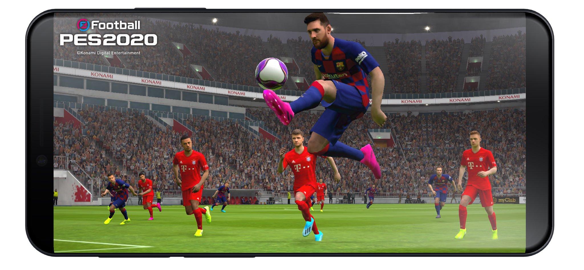 Мобильный гейминг, Симуляторы, Спортивные, Pro Evolution Soccer 2019, Pro Evolution Soccer 2020, PES 2020 Mobile