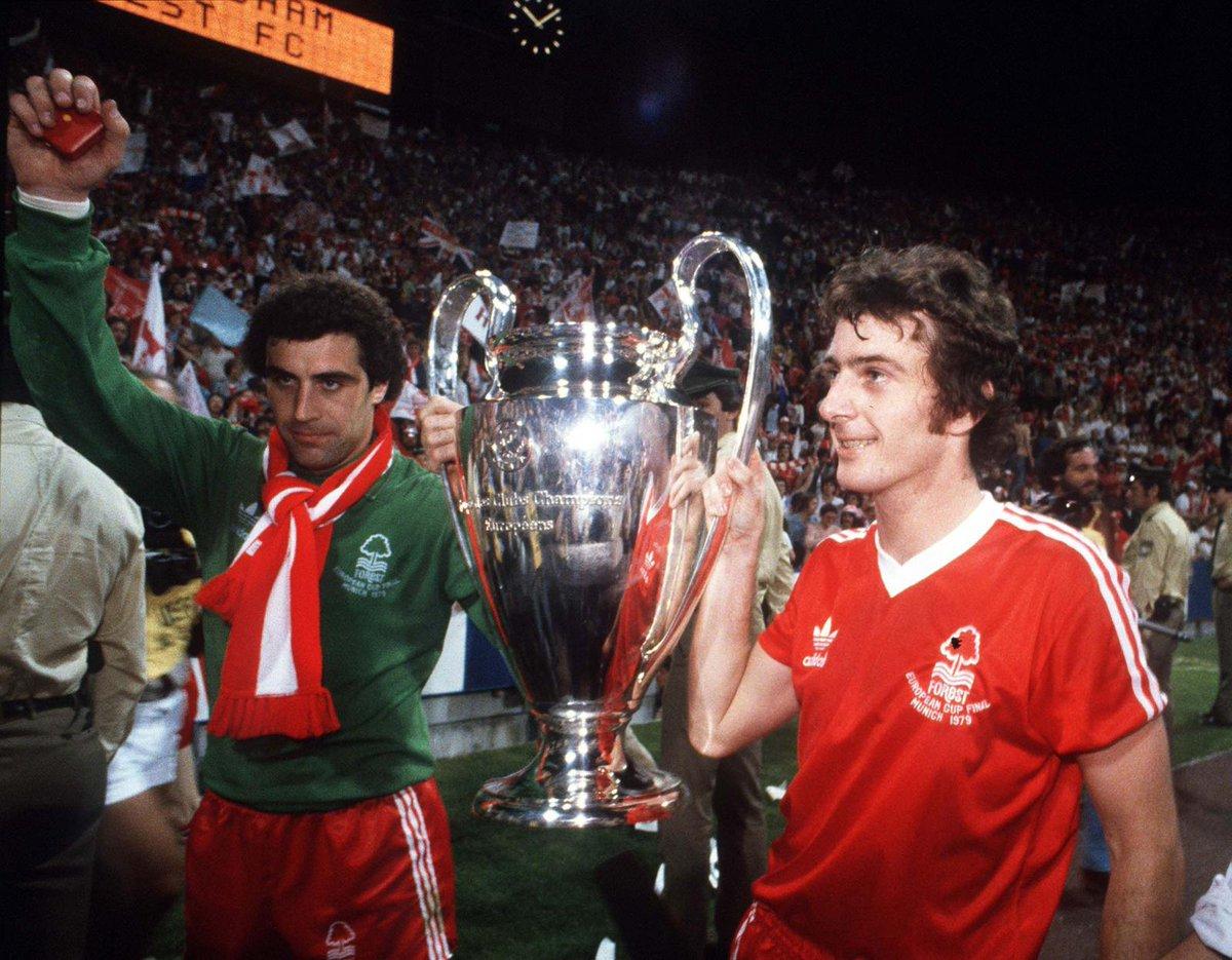 «Ноттингем Форест» не играет в АПЛ с 1999-го. А 42 года назад команда Брайана Клафа стала лучшим клубом Европы!