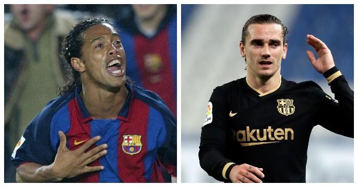 Гризманн впервые после Роналдиньо забил за «Барсу» в день рождения. Бразилец тоже огорчал «Сосьедад», в этот же день 17 лет назад!