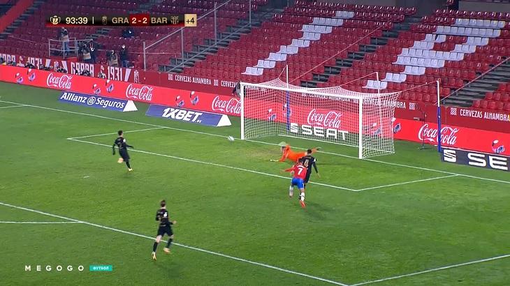 Умтити почти сплавил «Барселону» из Кубка – летели 0:2 к 88-й минуте. Спасли Месси, Гризманн и Альба
