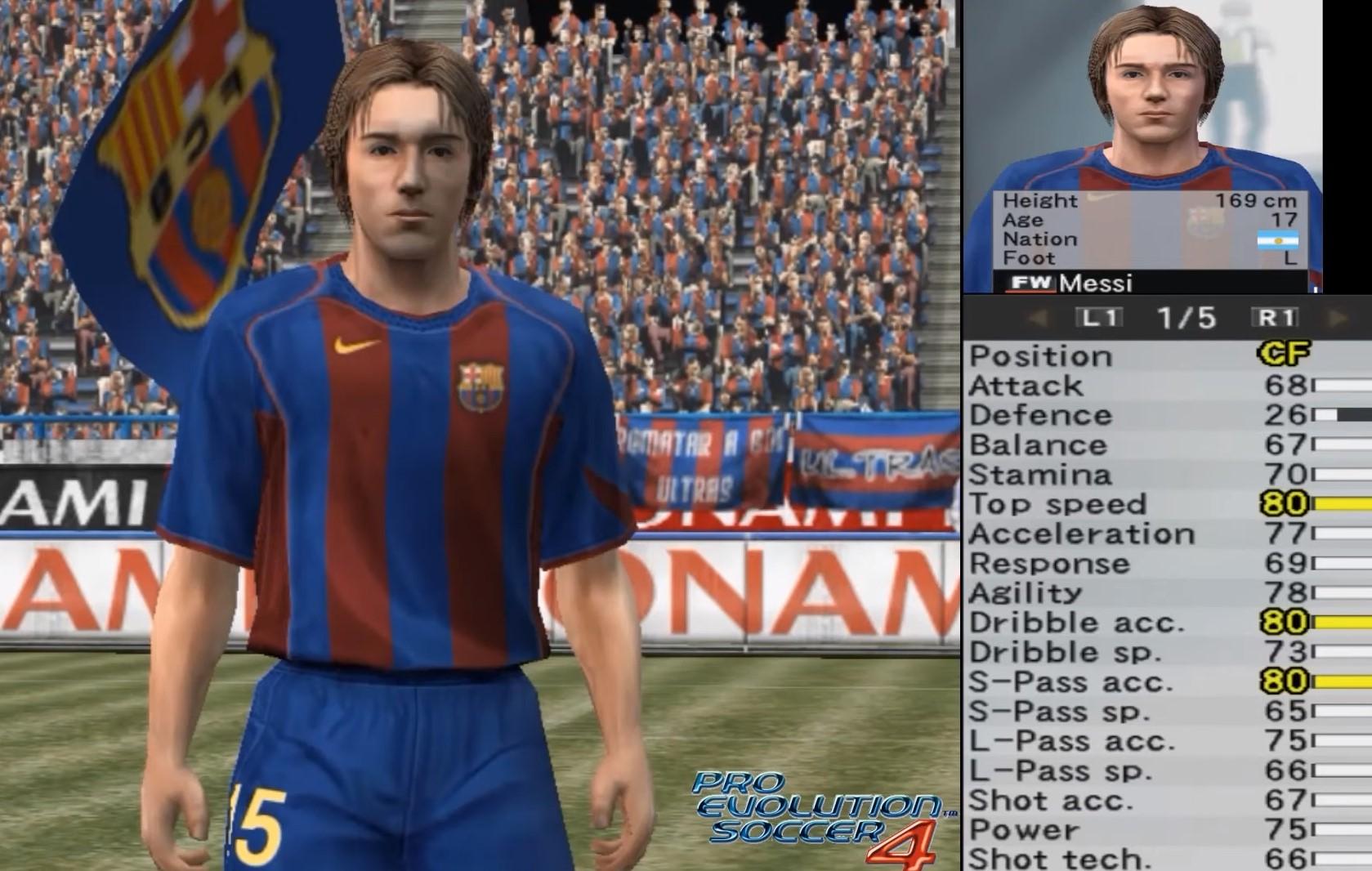 Football Manager, FIFA, Лионель Месси