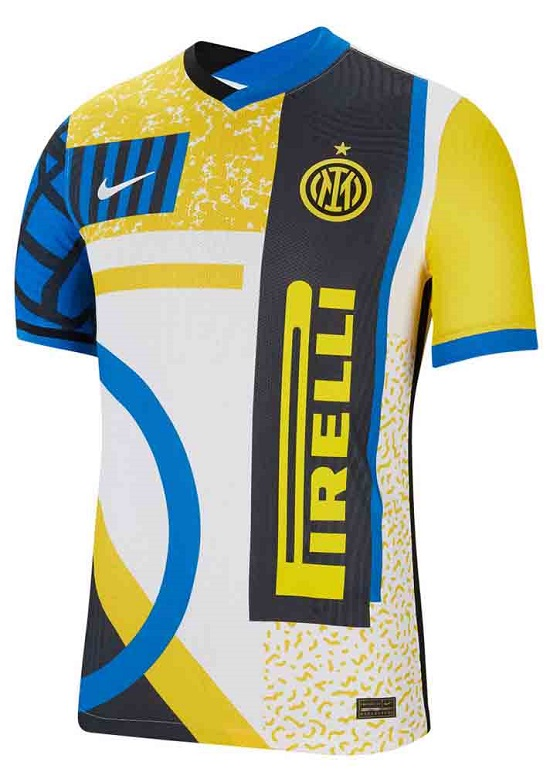 «Интер» представил четвертую форму: впервые с новой эмблемой и в последний раз с лого Pirelli