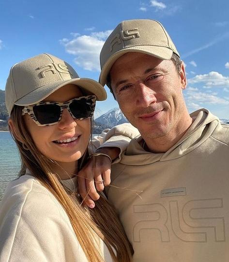 Роберт Левандовски и его жена Анна. Звёздная пара, которая не афиширует подробности личной жизни