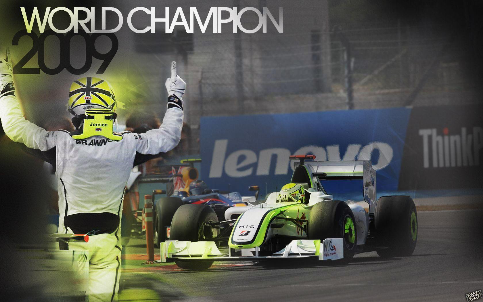 «We Are The Champions». Дженсон Баттон спустя 10 лет впервые сел за руль своего чемпионского болида