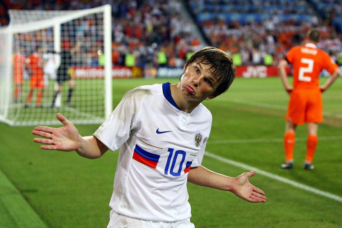 Тест: вспомните составы России и Нидерландов в том самом матче на Евро-2008?
