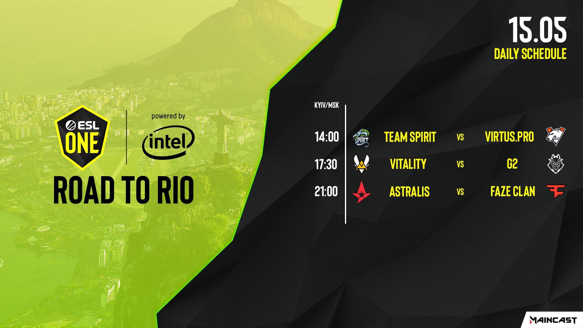 ESL, ESL One Road to Rio, Maincast