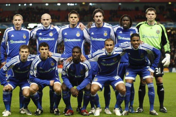 Арсенал лондон динамо киев 2008 2009