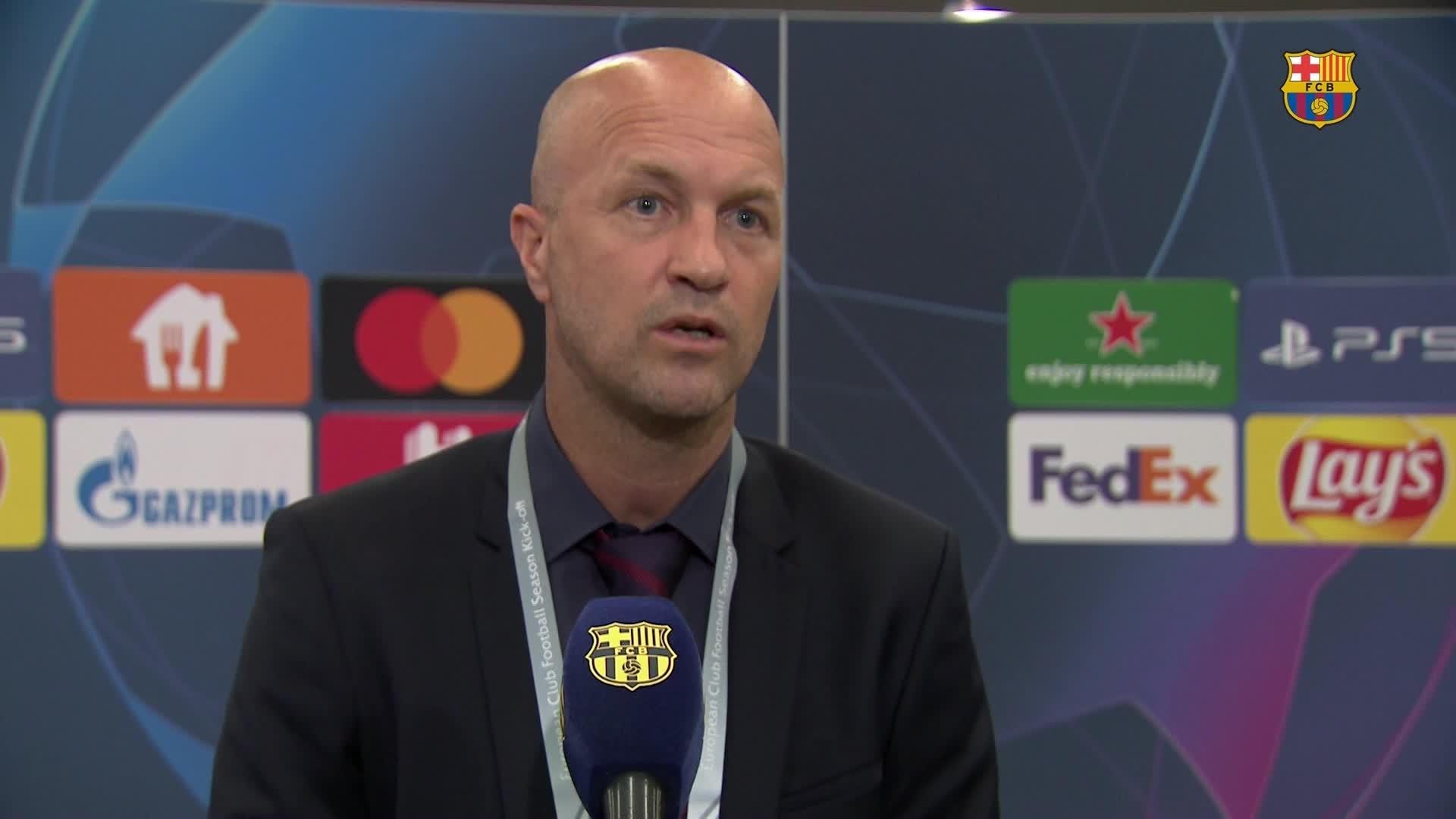 Йорди Кройфф дал комментарий по поводу результатов жеребьёвки для «Барселоны» в Лиге чемпионов