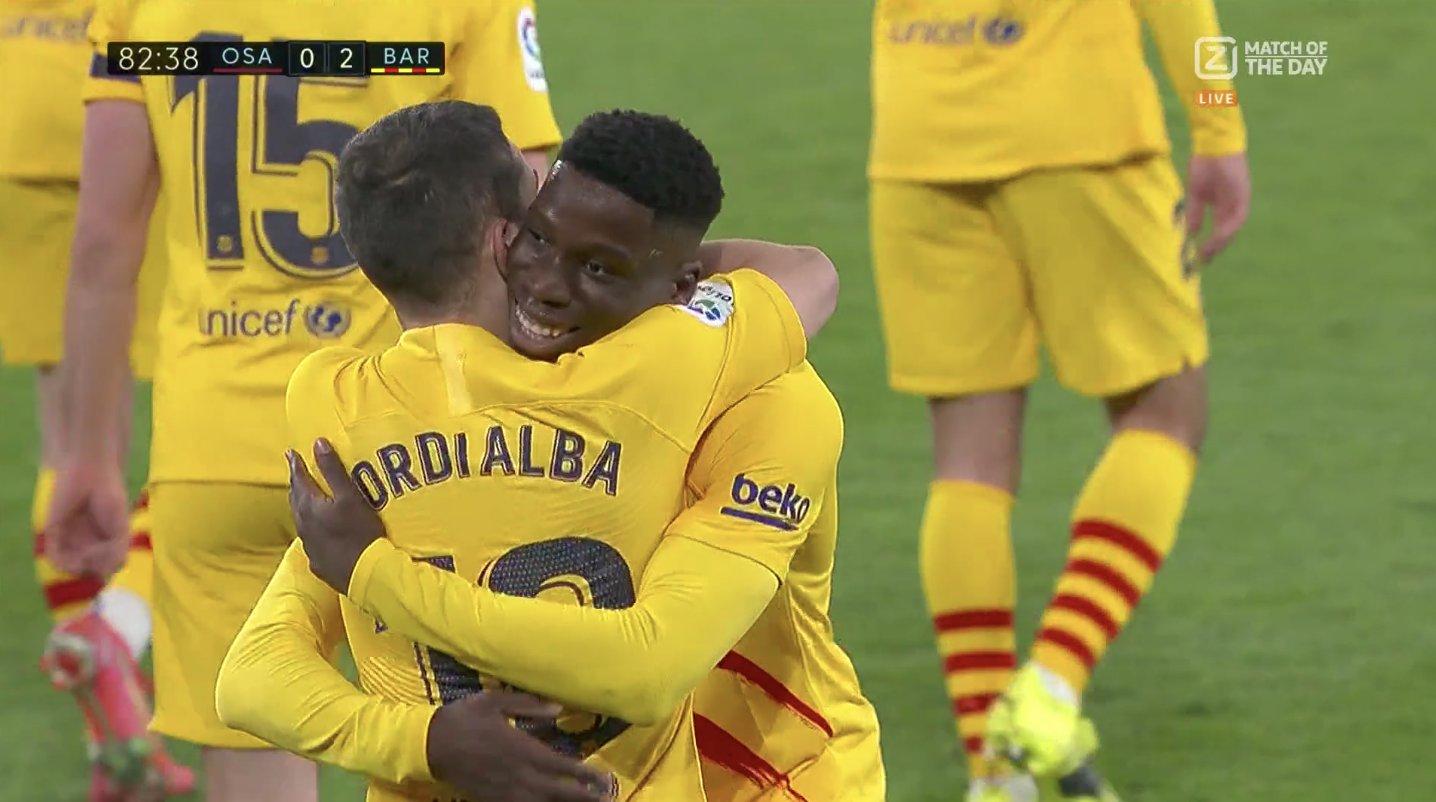 Мориба забил первый гол за «Барсу»! Голевую отдал Месси