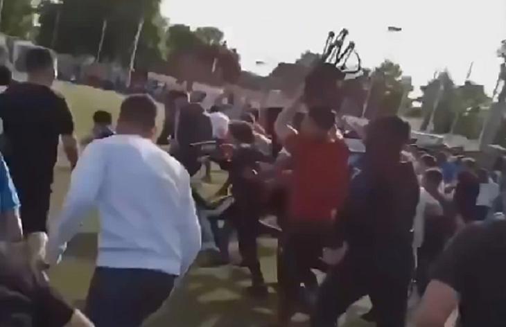 видео, происшествия, болельщики, лига 1 Франция