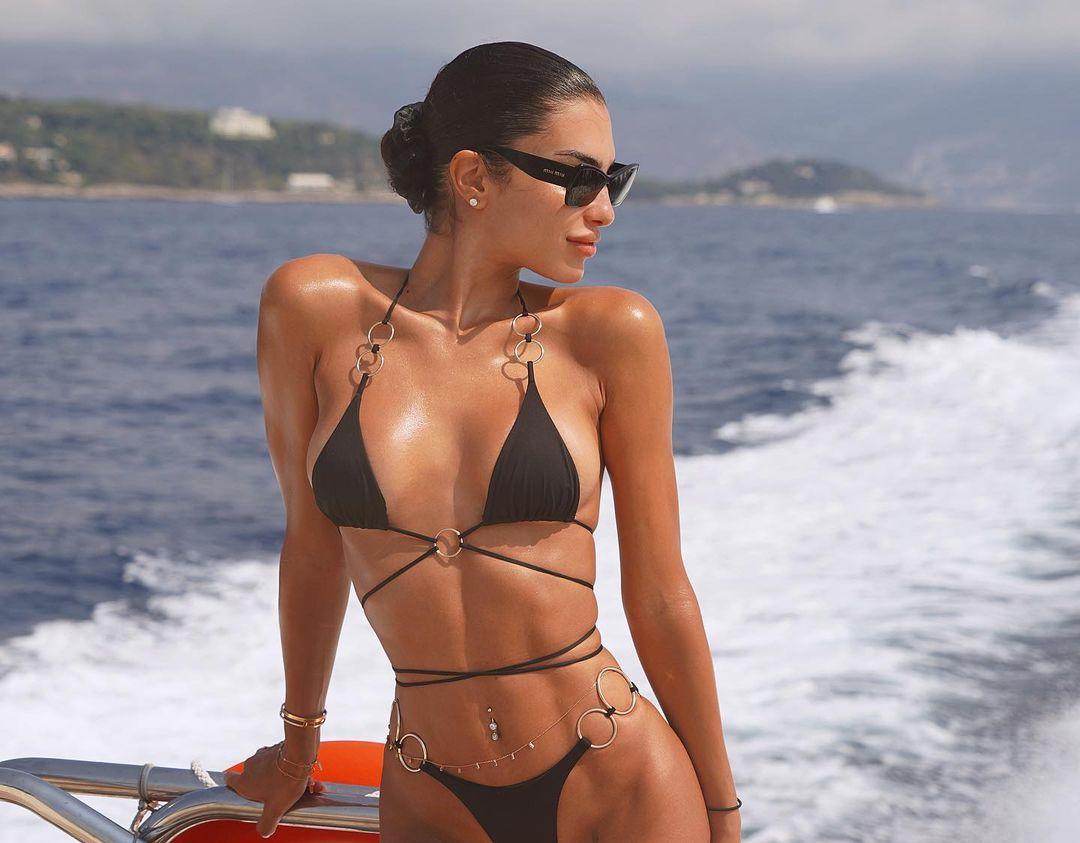 Джессика Айди – жена Марко Верратти. Модель с очень экзотической внешностью!