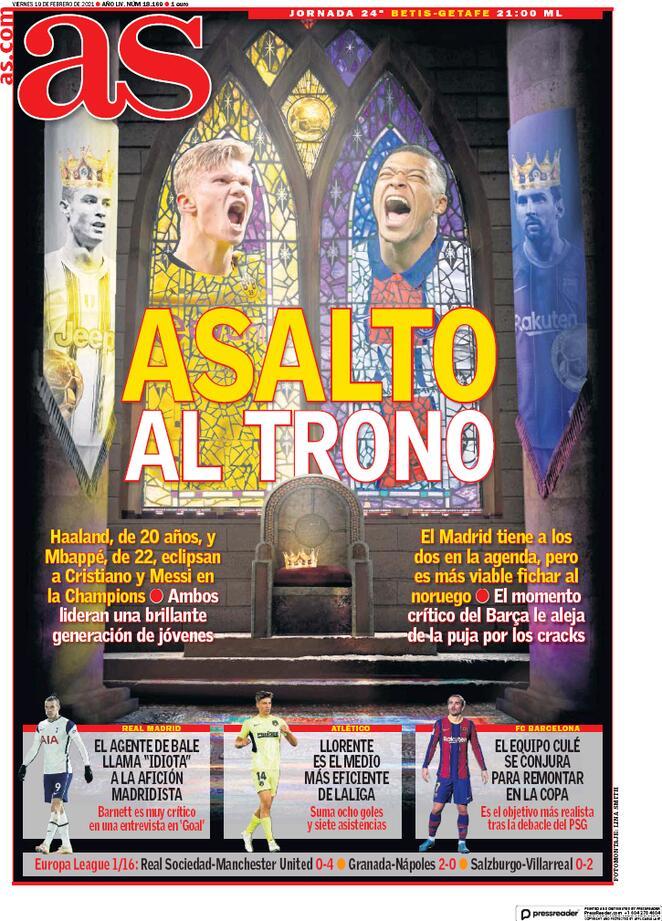 Холланд или Мбаппе, сложный выбор «Реала». Обзор футбольной прессы