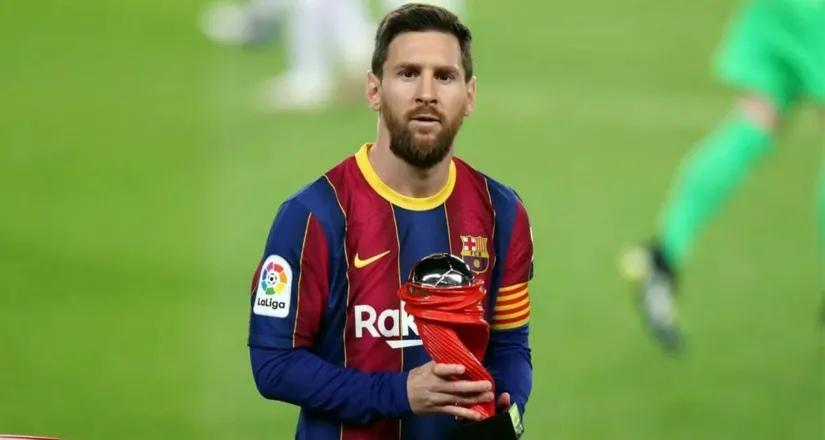 Месси выиграл награду POTM в феврале Ла Лиги - он забил во всех 5 матчах «Барсы»