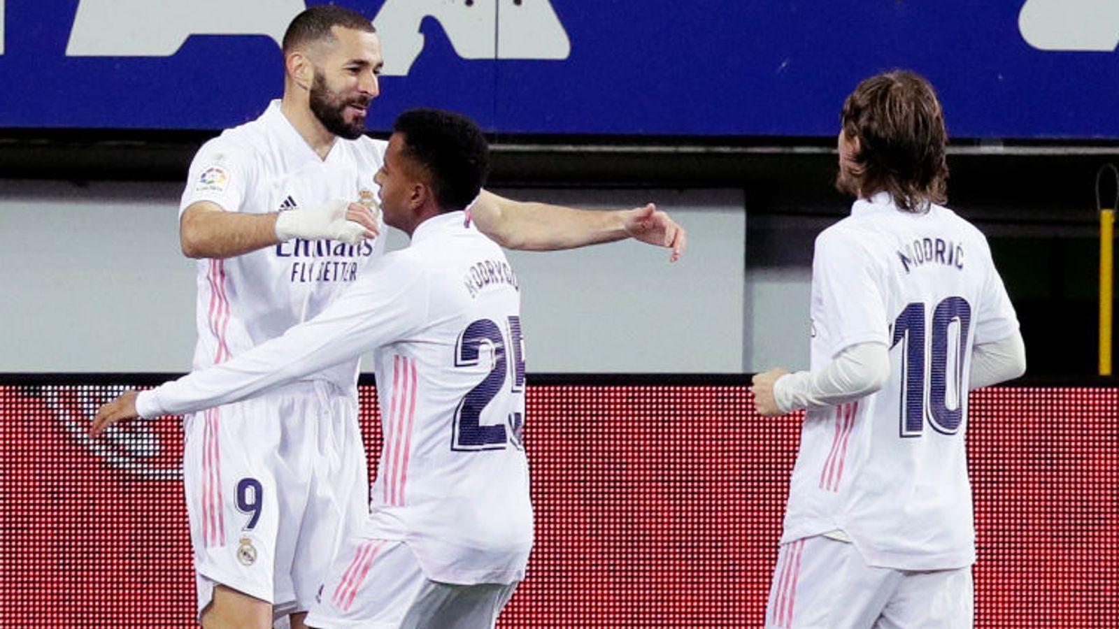 «Реал» переиграл «Эйбар». Феерический перфоманс Бензема. Обзор матча
