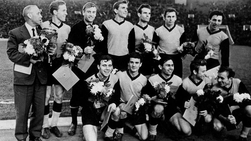 Химик (Сталиногорск) и его невероятный поход в Кубке СССР 1961