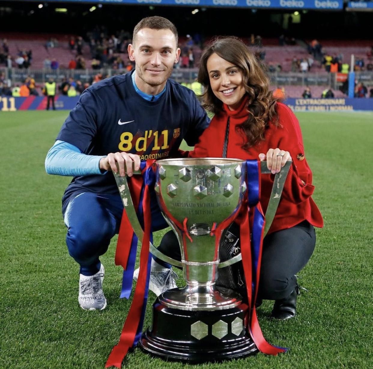 Полли Парсонс — супруга экс-защитника «Барселоны» и лондонского «Арсенала» Томаса Вермалена