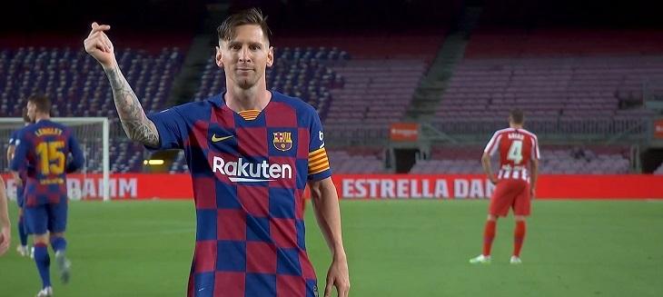 Ла Лига, Лионель Месси, Атлетико, Барселона