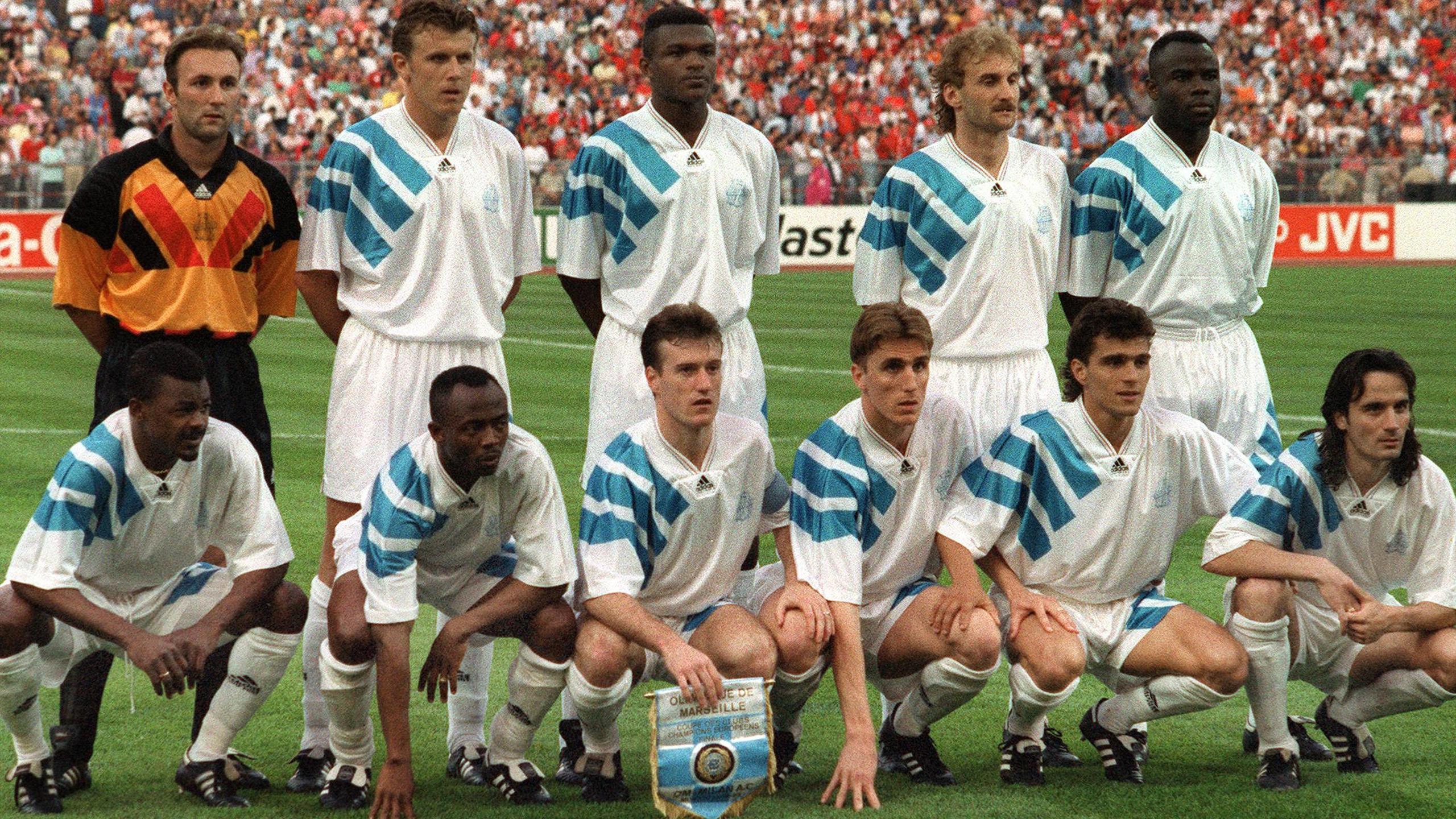 В 1993-м «Марсель» выиграл Лигу чемпионов. И тут же был отстранен от следующего розыгрыша турнира
