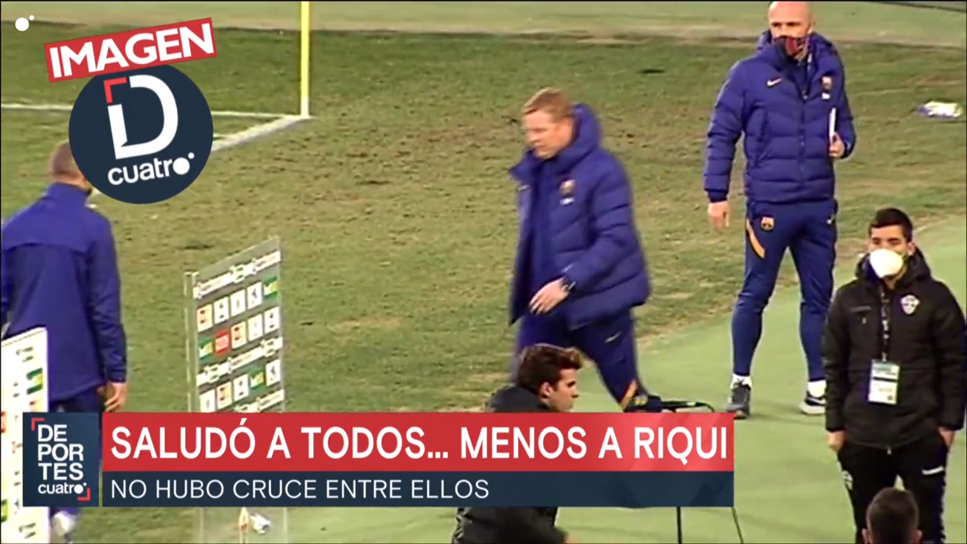 Рики Пуч был демонстративно проигнорирован Куманом после матча с «Эльче»