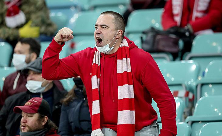 В Москве планируют пускать на матчи до трех тысяч фанатов – скоро этим уже воспользуются ЦСКА (в РПЛ) и «Спартак» (в ЛЧ)